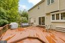 Large Deck - 6803 LAKERIDGE DR, FREDERICKSBURG