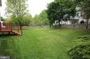 Huge fenced backyard- perfect for ball games - 612 KRISTIN CT SE, LEESBURG
