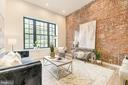 Exposed brick in EVERY condo - 1412 15TH ST NW #4, WASHINGTON