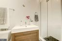 Construction is almost complete in the full bath! - 1412 15TH ST NW #11, WASHINGTON