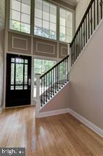 2 story dramatic foyer Bamboo floors on 2 levels! - 3206 FOX MILL RD, OAKTON