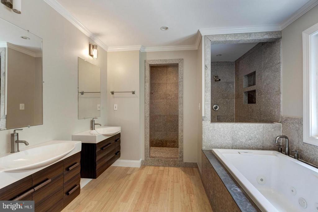 Stunning master bath - 3206 FOX MILL RD, OAKTON
