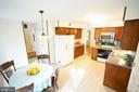 Spacious Kitchen 1/ Butcher Block - 8620 APPLETON CT, ANNANDALE