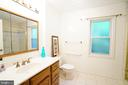 Main Level Master Bathroom - 8620 APPLETON CT, ANNANDALE