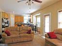 Family Room - open to Kitchen - 26013 RACHEL HILL DR, CHANTILLY