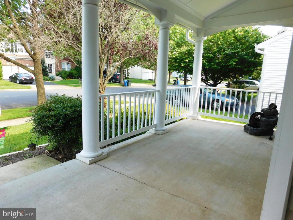 Delightful Front Porch - 26013 RACHEL HILL DR, CHANTILLY