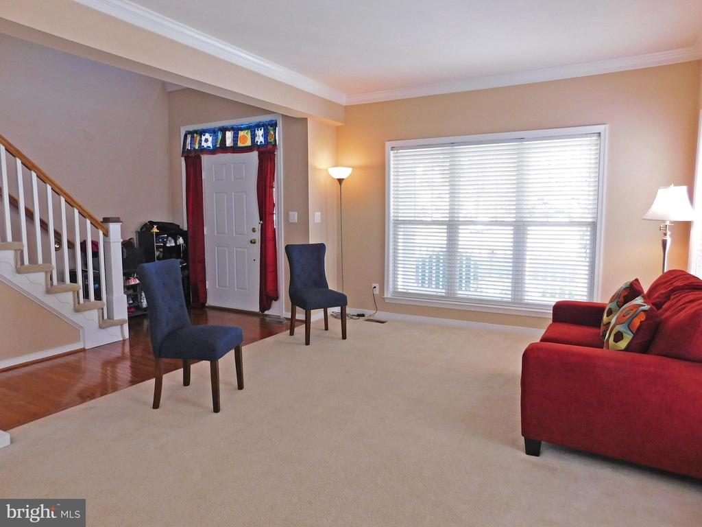 Living Room - view 2 - 26013 RACHEL HILL DR, CHANTILLY
