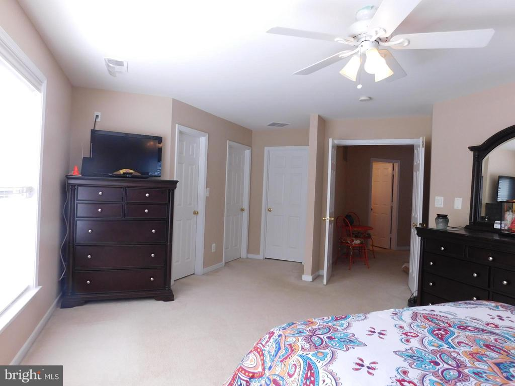 Master Bedroom - 2 walk-in closets - view 2 - 26013 RACHEL HILL DR, CHANTILLY