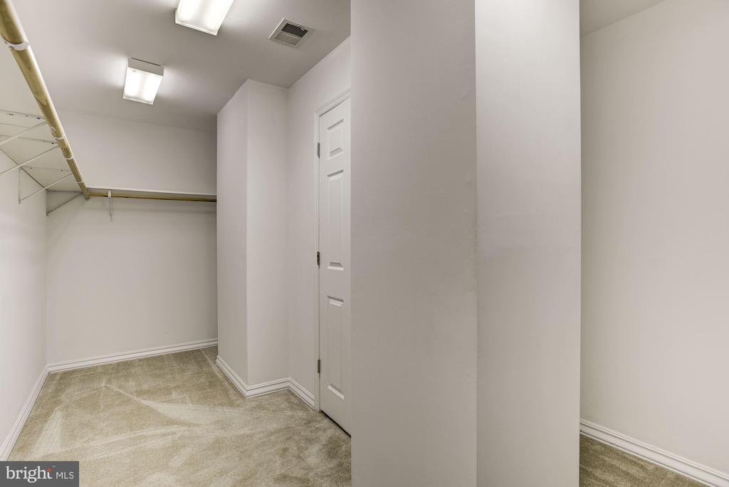 Large Walk in Closet in Master - 232 MARYLAND AVE, HAMILTON