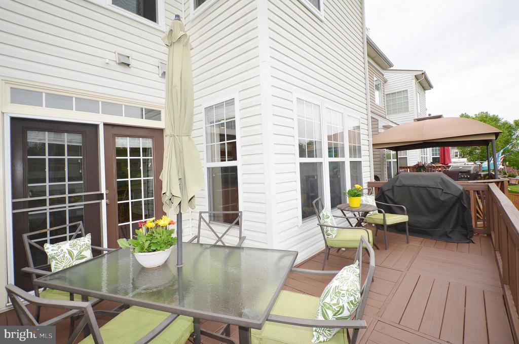 Spacious Deck - 43013 MILL RACE TER, LEESBURG