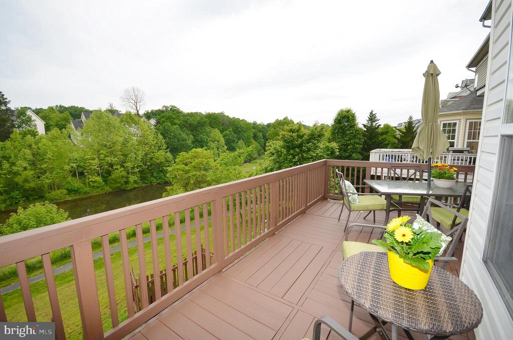 Deck View - 43013 MILL RACE TER, LEESBURG