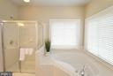 Soaking Tub and Separate Shower - 43013 MILL RACE TER, LEESBURG