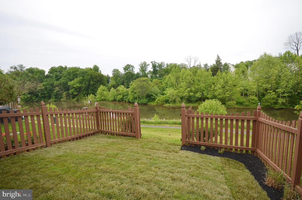 Rear Gates for Lake Access - 43013 MILL RACE TER, LEESBURG