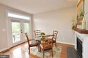 Breakfast Nook Leads to Deck - 43013 MILL RACE TER, LEESBURG