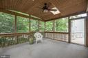 Relax in the Screened-In Porch - 21 STONERIDGE CT, STAFFORD