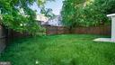 Private rear yard. - 5906 BURGUNDY ST, CAPITOL HEIGHTS