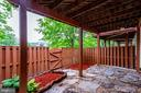 Paved Patio - 12476 CASBEER DR, FAIRFAX