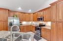 Kitchen with Stainless Steel Appliances - 325 BLUE SKY RD, LINDEN