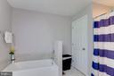 Master Bath with Separate Tub and Shower - 325 BLUE SKY RD, LINDEN