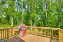 Rear Deck - 325 BLUE SKY RD, LINDEN