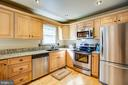 Kitchen with Stainless Steel Applicances - 141 CHOPTANK RD, STAFFORD