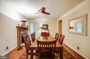 Dining Room or Sitting Room on Lower Level - 141 CHOPTANK RD, STAFFORD