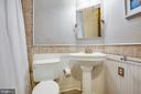 Updated Hall Bath with Jetted Tub - 141 CHOPTANK RD, STAFFORD