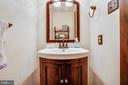 Lower Level Powder Room - 141 CHOPTANK RD, STAFFORD