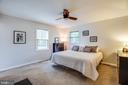 Spacious Master Bedroom - 141 CHOPTANK RD, STAFFORD