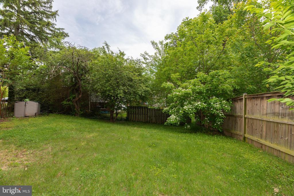 Backyard - 3513 N JEFFERSON ST, ARLINGTON