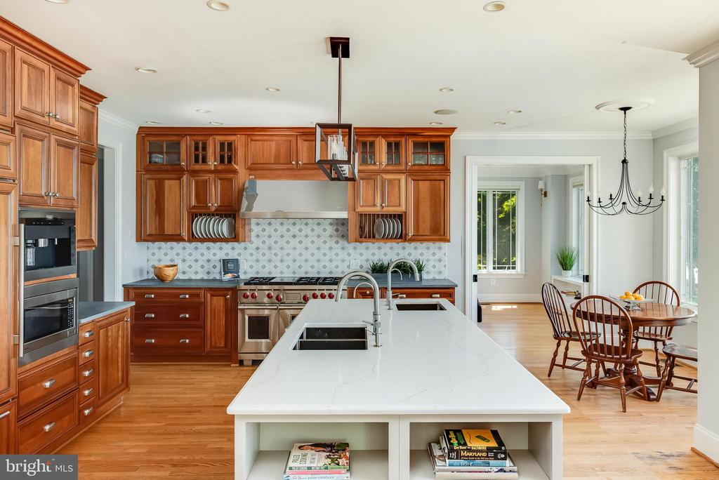 Renovated Kitchen with New Island & More. - 3752 THOMAS POINT RD, ANNAPOLIS