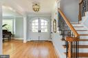 Generous entry with open floor plan. - 3752 THOMAS POINT RD, ANNAPOLIS