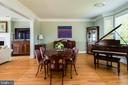 Formal Dining Room or Living Room with Water Views - 3752 THOMAS POINT RD, ANNAPOLIS