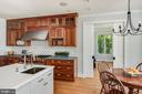 Renovated Kitchen with Wolf Stove & Water Views. - 3752 THOMAS POINT RD, ANNAPOLIS
