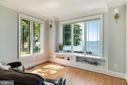 Main level Den, closet & full bath & water views. - 3752 THOMAS POINT RD, ANNAPOLIS