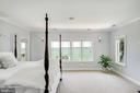 Elegant Master BR with water views. & FP. - 3752 THOMAS POINT RD, ANNAPOLIS