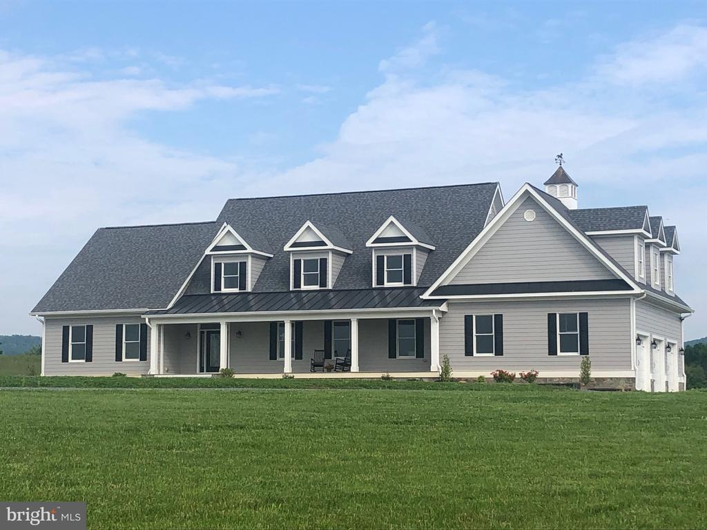 New Custom Home Designed to capture the 360 views - 38042 GREENWOOD FARM LN, PURCELLVILLE