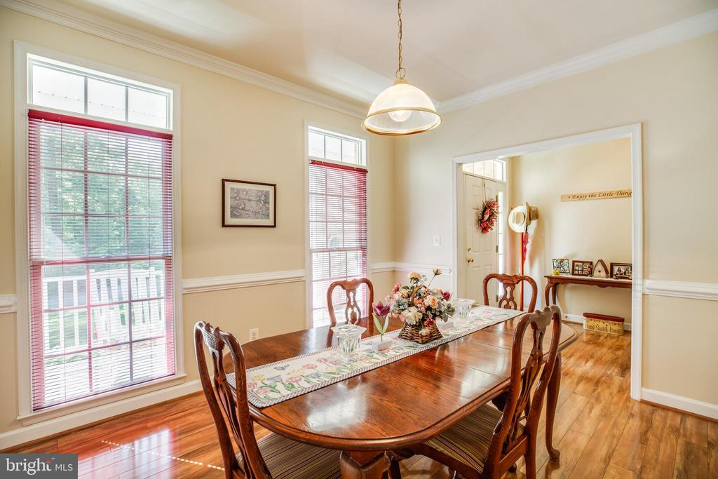 Formal Dining Room - 96 CASCADE LN, FREDERICKSBURG