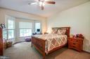 Master Bedroom with Bay Window - 96 CASCADE LN, FREDERICKSBURG