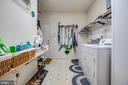 Main Floor Laundry Room with Sink - 96 CASCADE LN, FREDERICKSBURG