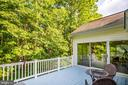 Deck and Sunroom - 96 CASCADE LN, FREDERICKSBURG