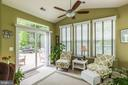 Sunroom  Leading to Patio - 16096 DANCING LEAF PL, DUMFRIES