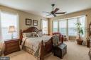 Master Bedroom with Bay Window - 16096 DANCING LEAF PL, DUMFRIES