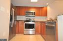 Kitchen with New SS Appliances - 777 7TH ST NW #917, WASHINGTON