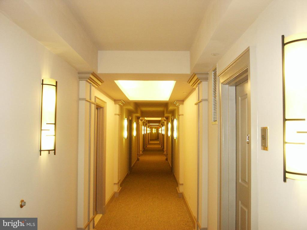Exterior Hallway - 777 7TH ST NW #917, WASHINGTON