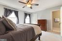 En Suite Master Bedroom - 5904 AMBASSADOR WAY, ALEXANDRIA