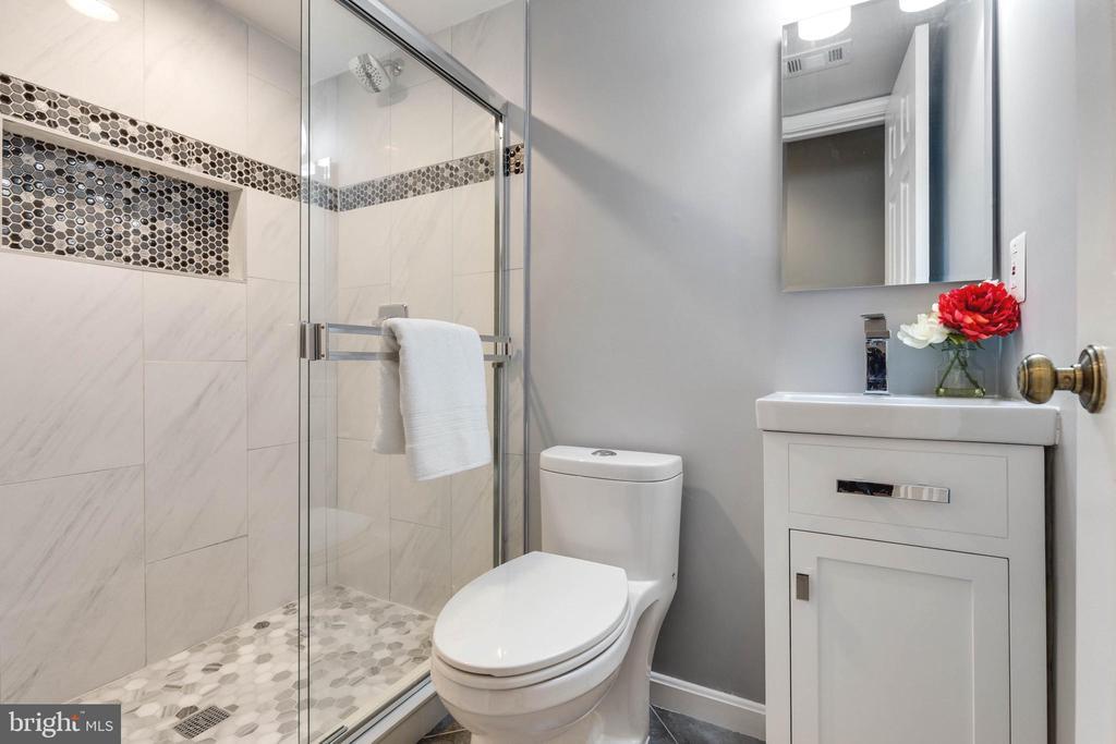 Full Bathroom Three- Lower Level - 5904 AMBASSADOR WAY, ALEXANDRIA