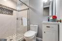 Full Bathroom Three- Lower Level - 5904 AMBASSADOR WAY, ALEXANDRIA