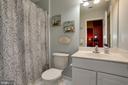Full bathroom in basement - 8902 SINGLELEAF CIR, LORTON