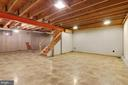 Large unfinished basement - 15760 OAK LN, HAYMARKET